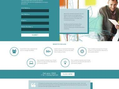 x1 page PSD to responsive CSS