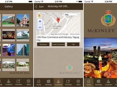 McKinley Hill (iPhone/iPad reference App)