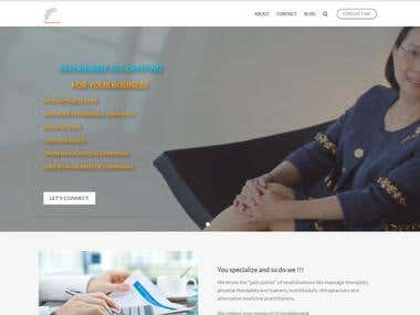 Bookkeeping business website