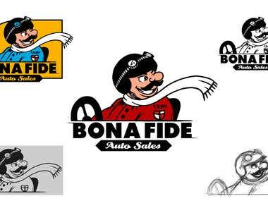 Logo design (logo with character)