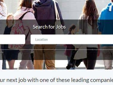 Jobs web site