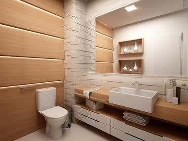 Design de interiores e projeto 3D - Escritório Grasmov