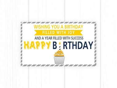 Happy Birthday e Card