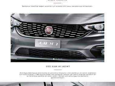 Fiat Egea Website