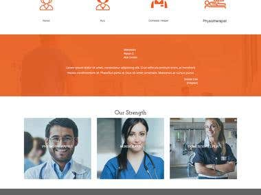 Nurse Center Website