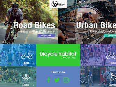 Bicycle Habitat / NYC Website