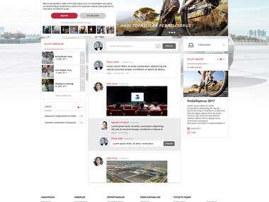 Tofaş Intranet Design