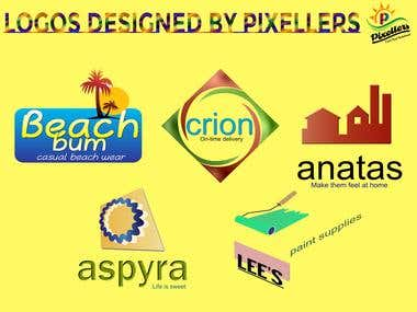 Logo Designs by Pixellers