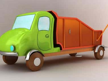 Low poly Trucks