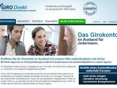 Wordpress Theme http://girokonto-ausland.com/