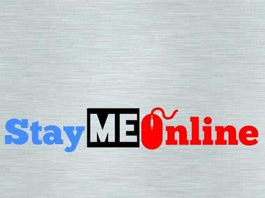 We Made Logo for StayMeOnline.com