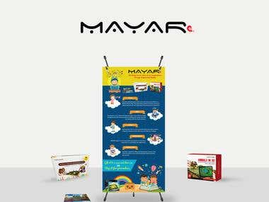 Standee Design for MAYAR