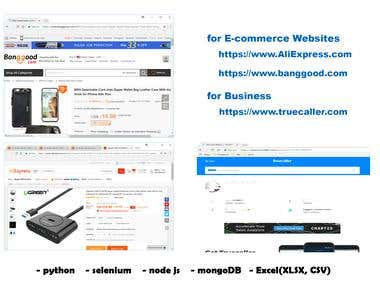 for E-commence Site and Business