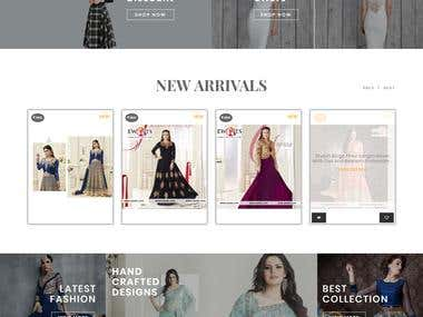 Yii : Online boutique for women