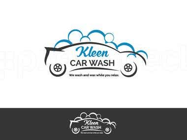 Logo Design for Kleen car wash