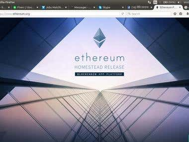Etherium Setup