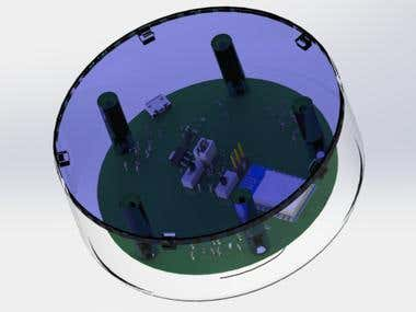 ESP8266 Wifi incircuit programmer Enclouser Design