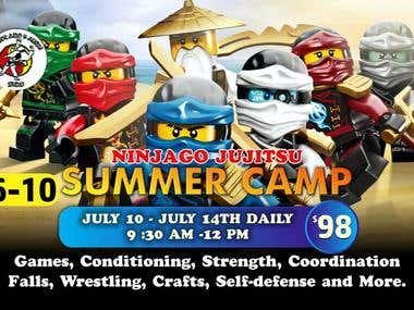 Flier needed to get kids to join a summer camp