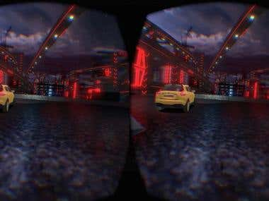 VR experience for Nissan Juke promo