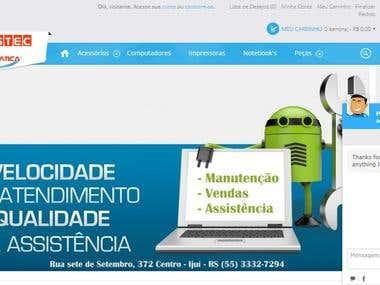 Loja Virtual Prusstec Informática
