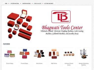 Bhagwatitools Center Website