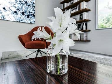Luxury living room