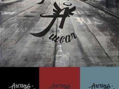 Criação de marca: Arcanjo's Wear