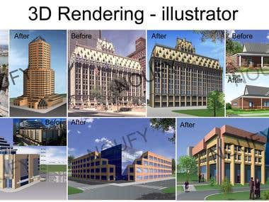 Rendering - Illustrator