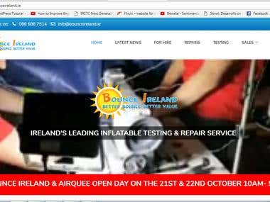 IRELAND'S LEADING INFLATABLE TESTING & REPAIR SERVICE