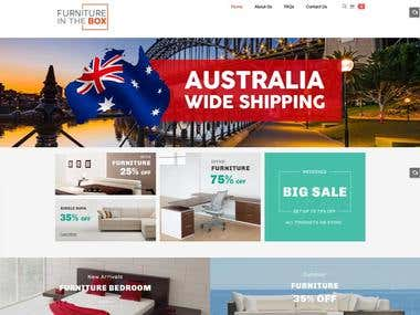Furniture E-commerce website