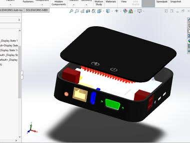HP Layer Computer Modelling