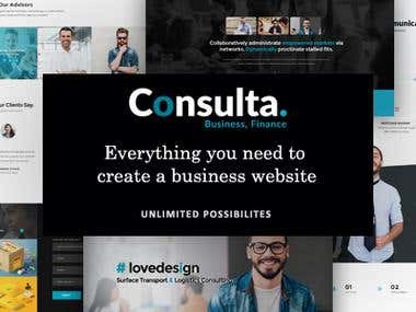 Create Consulta - WordPress theme on themeforest.net