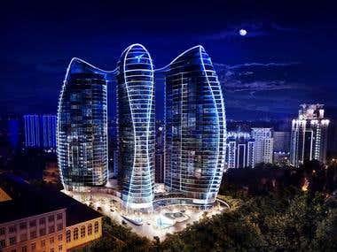 Exteriors / skyscrapers