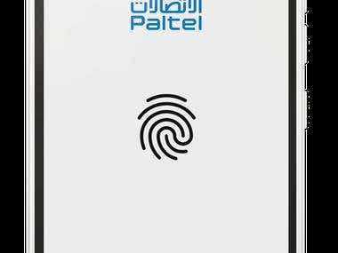 "User Interface Design ""Application Paltel"""
