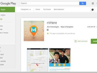 mHere Android App
