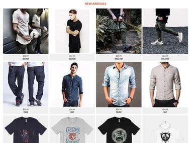 Ecommerce Clothing Store