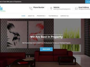 Real Estate Portal Website CMS Based With Listing