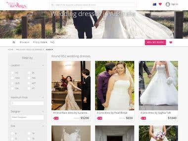 Australian Wedding site