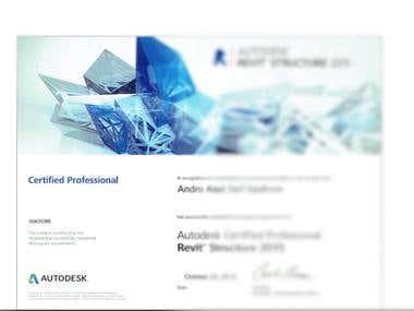 Autodesk Certified Professional ( Revit structure )