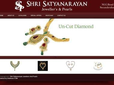 Jewellery Store Website