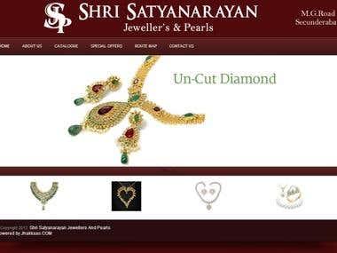 Jewellery Store Website