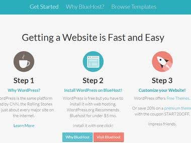 Getting Website