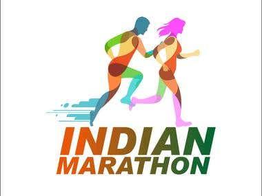 Indian Marathon Logo
