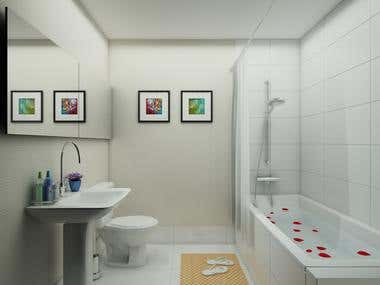 Apartment's interior&exterior