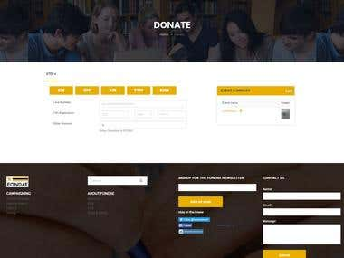 Donate pay using Stripe payment Getway in Laravel