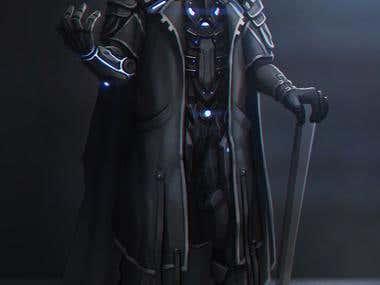 Sci-fi Character Concept Art