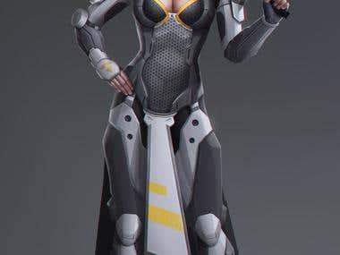 Female Sci-fi Characters