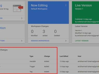 Custom Event Tracking with Google Tag Manager implementation