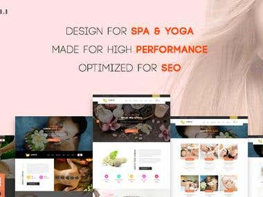 Create LemonSpa - WordPress theme on themeforest.net