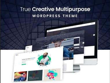 Create Doyle - WordPress theme on themeforest.net
